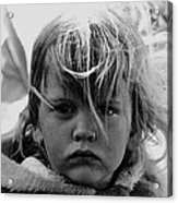 Film Noir Jean Simmons Robert Mitchum Rko Angel Face 1953 Demolition Derby Tucson Arizona 1968 Acrylic Print