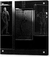 Film Noir Richard Widmark Night And The City 1950 2 Johnny Gibson Health And Gym Equipment Tucson Az Acrylic Print