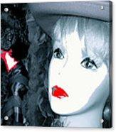 Film Noir Stanley Kubrick Frank Silvera Killer's Kiss 1955 Mannequin Casa Grande Arizona 2006  Acrylic Print