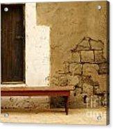 Village Doorway Acrylic Print