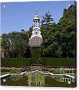 Filoli Garden With Pond Acrylic Print