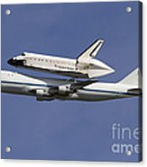 Final Flight Of The Endeavour Acrylic Print