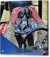 Final Prerace Preperations Acrylic Print