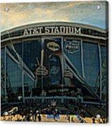 Finals Madness 2014 At Att Stadium Acrylic Print