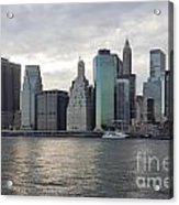 Financial District Skyline Acrylic Print