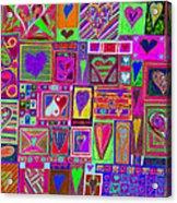 find U'r love found v5 Acrylic Print