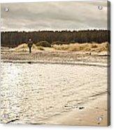 Findhorn Beach Acrylic Print