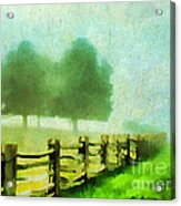 Finding Your Way Acrylic Print by Darren Fisher