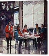 Fine Dining Acrylic Print by Ryan Radke