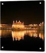 Fine Reflection At Night Acrylic Print