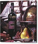 Fine Wine For New Voyage Acrylic Print