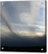 Finger Clouds Acrylic Print