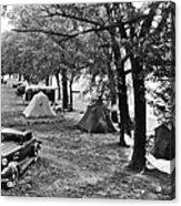 Finger Lakes Camping Acrylic Print