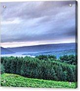 Finger Lakes Landscape Acrylic Print