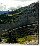 Finger Of Nisqualy Acrylic Print