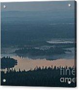 Finish Lakeland In The Mist Acrylic Print