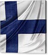 Finnish Flag Acrylic Print
