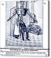 Finsen Apparatus, C1905 Acrylic Print