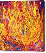 Fire And Passion - Here's To New Beginnings Acrylic Print