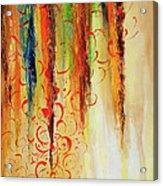 Fire And Rain Acrylic Print