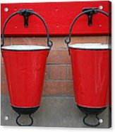 Fire Buckets Acrylic Print