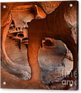 Fire Cave Windstone Arch Nevada Acrylic Print