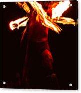 Fire Dancer 1 Acrylic Print