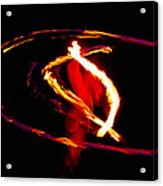 Fire Dancer 2 Acrylic Print