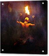 Fire Eater Acrylic Print
