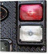 Fire Engine  Acrylic Print by Bob Orsillo