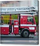 Fire Engine Acrylic Print