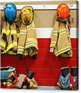 Fire Equipment At Rest Acrylic Print