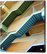 Fire Escape Stairs Acrylic Print
