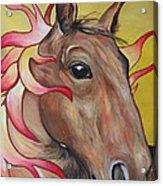 Fire Horse Acrylic Print