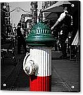 Fire Hydrant From Little Italy Acrylic Print
