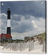 Fire Island Light From The Beach Acrylic Print