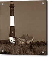 Fire Island Lighthouse Acrylic Print by Skip Willits