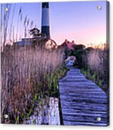 Fire Island Reflections Acrylic Print by JC Findley