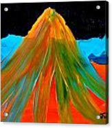 Fire Mountain 2 Acrylic Print
