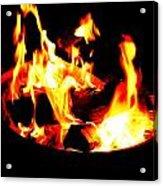 Fire Pit Acrylic Print