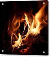 Fire Portal Acrylic Print