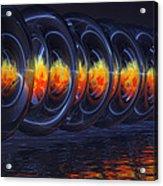 Fire Rings Acrylic Print