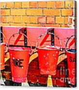 Fire Safety Acrylic Print