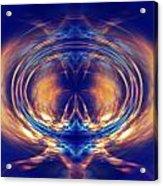 Fire Spin 1 Acrylic Print