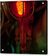Fire Warning Acrylic Print
