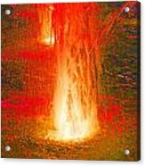 Fire Water Acrylic Print