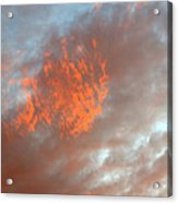 Fireball In The Sky Acrylic Print