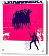 Firecreek, Us Poster, Bottom From Left Acrylic Print