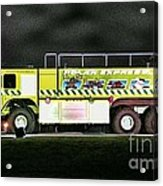 Firefighters Christmas 2 Acrylic Print