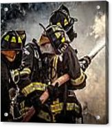 Firefighters Acrylic Print